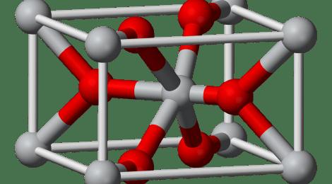 Молекула оксида титана