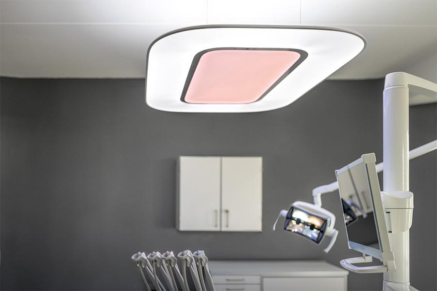 Бестеневой светильник для стоматологии