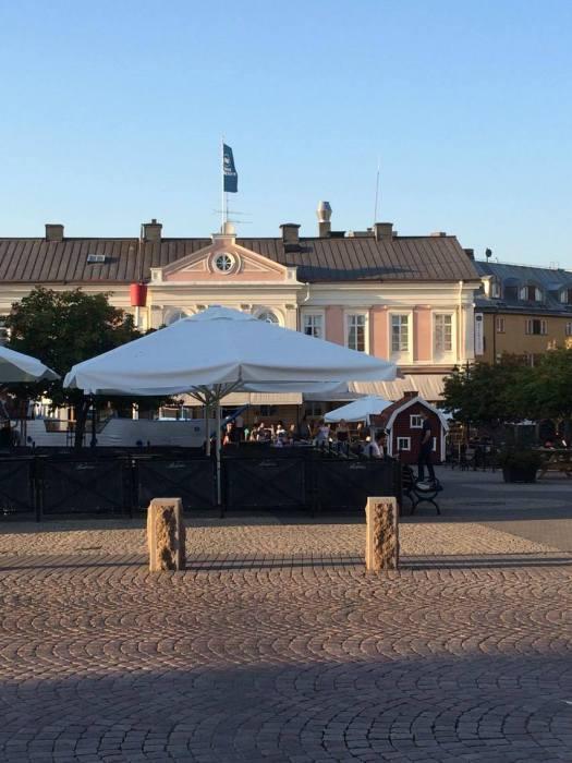 Statshotellet i Vimmerby. Her likte Astrid å danse.
