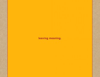 Swans – Leaving Meaning