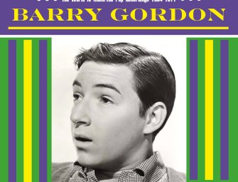 Barry Gordon – The World is Mine/The Pop Recordings 1964-1971