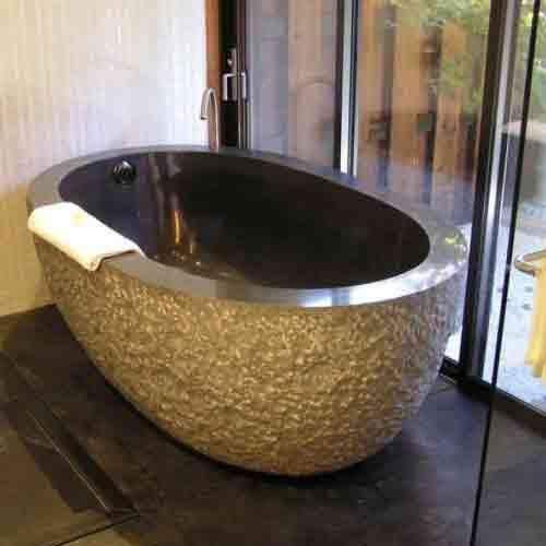 Black Granite Stoneforest Stone Bathtub Prices