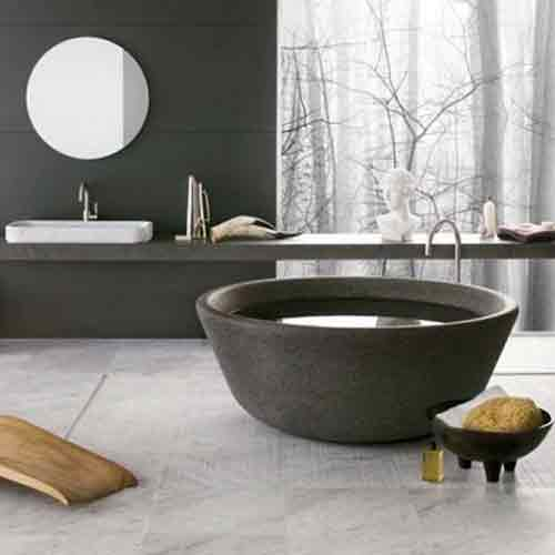 2016 Modern Black Marble Bathtubs Designer Black Tubs