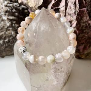 Flower Agate Bracelet Tree