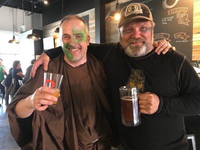Paul the Brewer and Kristjan the Chieftain