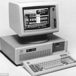 August 12, 1981 First personal pc