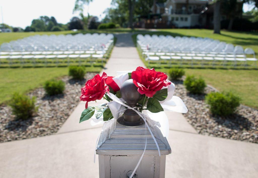 Gazebo Wedding Julia's Hubbard Ohio