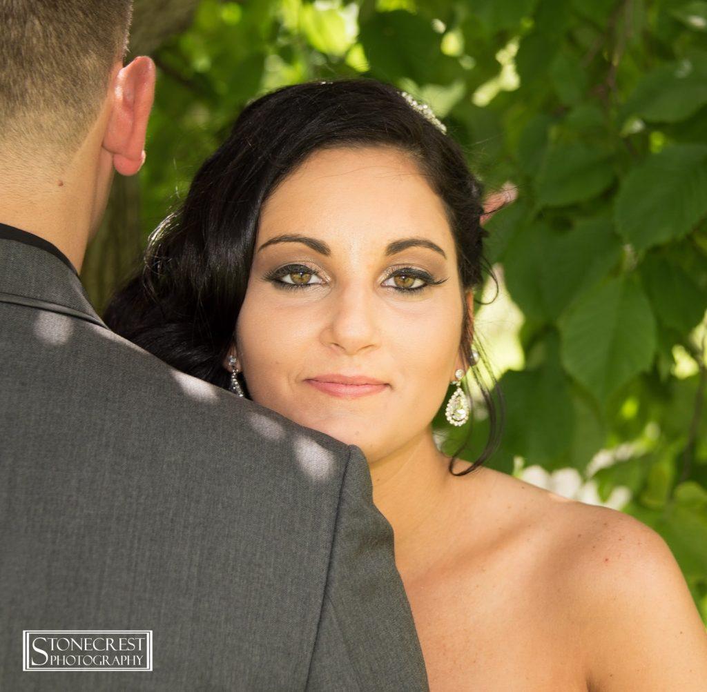 Bride Brown Eyes Julia's