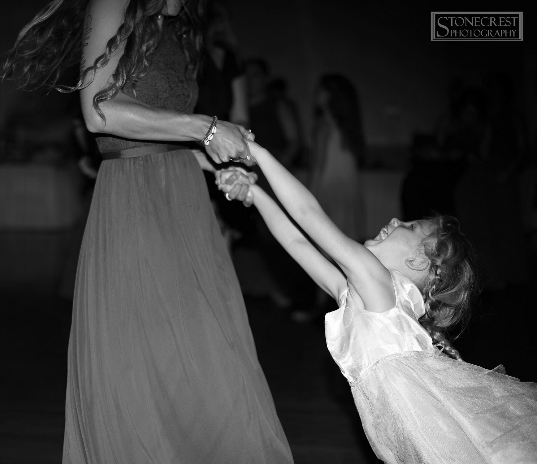 Cute Flower Girl Dancing Elm Tree Struthers Ohio