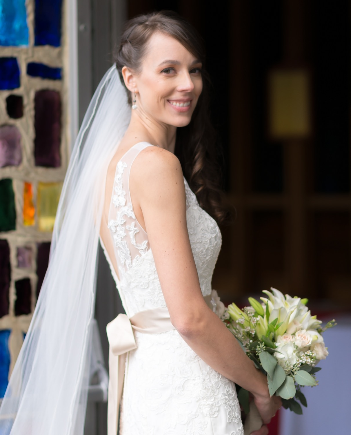 Bride At Orchard Lake Chapel