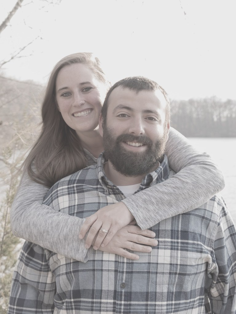 Brittany & Kyle's Island Lake Engagement