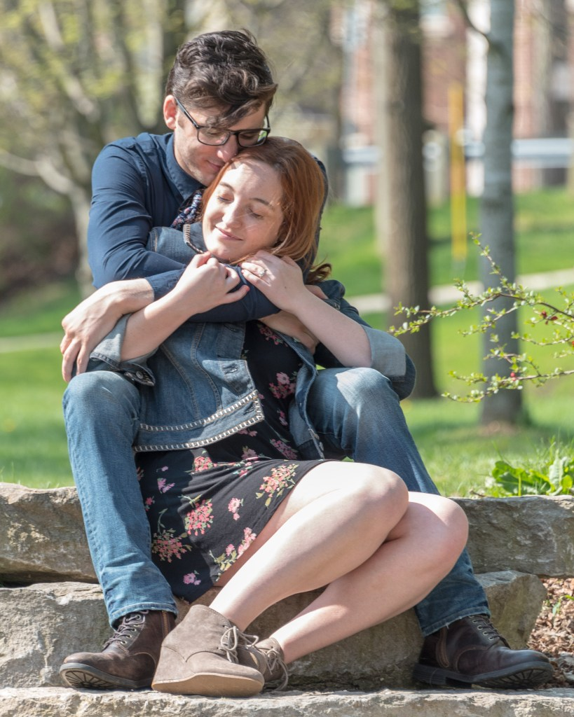 Kari & Kevin in Rochester Municipal Park