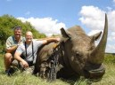 Killing a critically endangered black rhinoceros