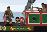 Could you paint Rosie and Jim on The Old Ragdoll being hijacked by Somali pirates? Jane Sayer