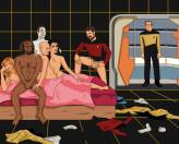 Awkward Star Trek orgy As requested by Sam Wise