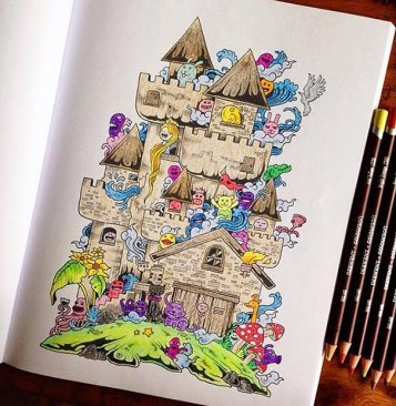 coloring-book-adult-doodle-invasion-kerby-rosanes-22
