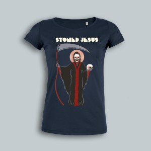 "STONED JESUS T-Shirt ""The Harvest"" Girl"
