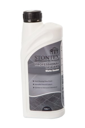 Image of Stontex Slate Sealer for internal slate floors with gloss effect
