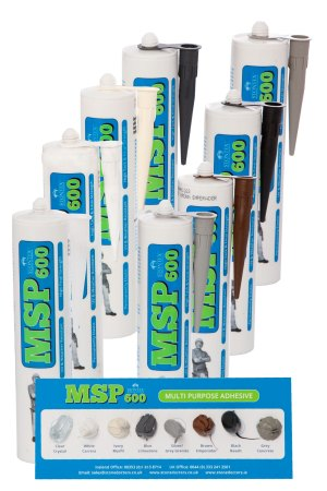 Image of Stontex MSP 600 High performance gun grade mastic and adhesive