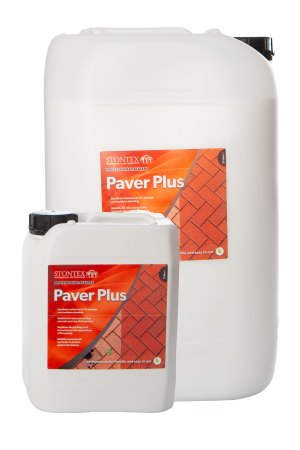 Image of Stontex Paver Plus high performance outdoor sealer for concrete paving, driveways and paths