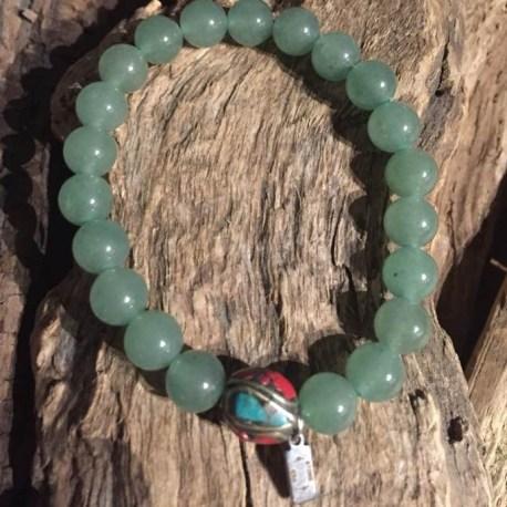 Stone Era wisdom handmade jade with tibet bead manon tremblay ottawa