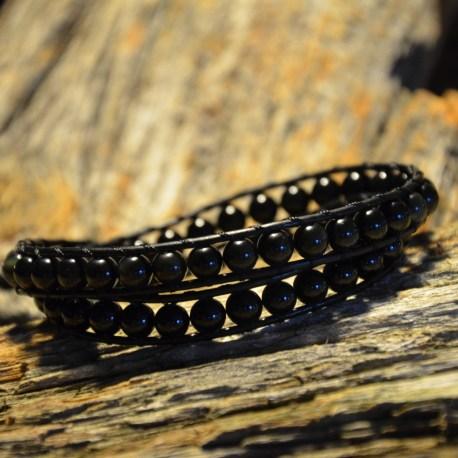 beyond-manon-tremblay-stone-era-bracelet-handamade-onyx-and-obsidian