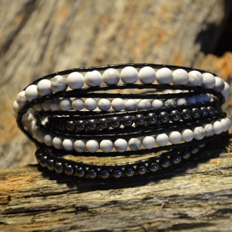 pure-white-stone-era-bracelet-ottawa-manon-tremblay-hematite-and-white-turquoise