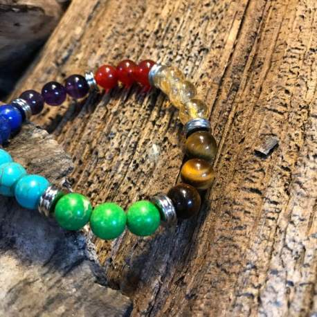 Chakra bracelets, manon tremblay stone era handmade natural stone bracelets