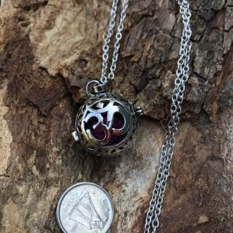 essential oil stone era pendant lava diffuser manon tremblay ottawa OM symbol compare