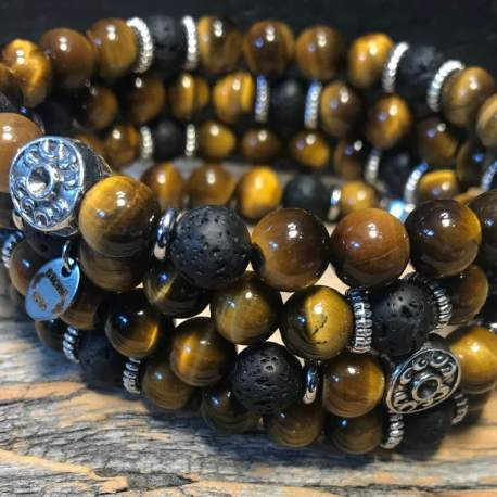 tiger and lava stone era for men natural stone bracelet ottawa