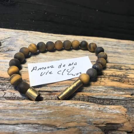 Stone era infinity bracelet -TIGER 1 ottawa manon tremblay message in a bracelet