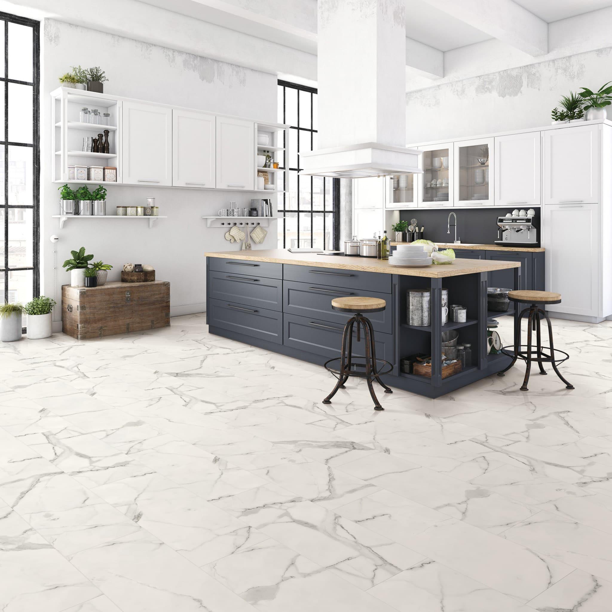 Marble Design - Bianco White