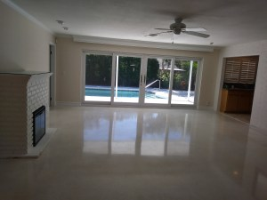 Terrazzo Floor/ Marble Vanity Restoration-Vero Beach