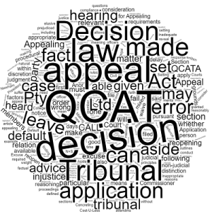 Appealing a QCAT Decision Stonegate Legal