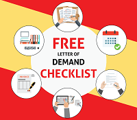 Free demand letter checklist debt recovery solicitor a