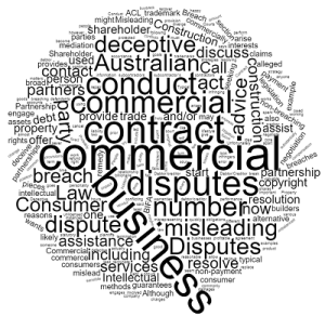 commercial disputes in Queensland commercial litigation lawyer
