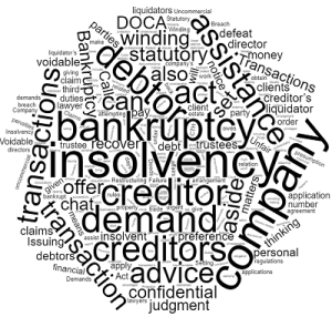 insolvency lawyers in Queensland bankruptcy winding up