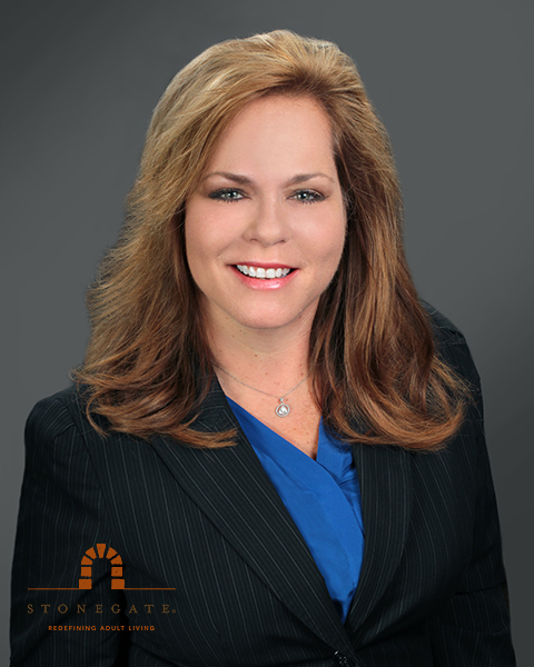 Image: Dianne K. Sullivan-Slaziyk, Chief Clinical Officer and Senior Vice President of Operations, StoneGate Senior Living