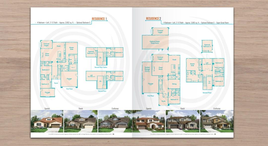 Brochure For Real Estate Homes