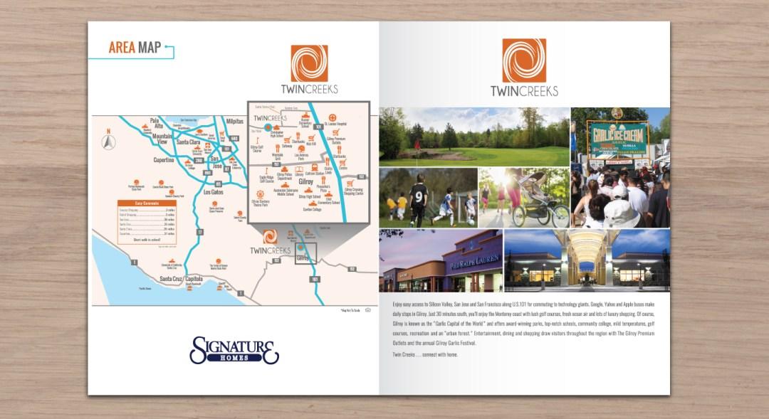 Brochure For Real Estate Homes For Sale Designed