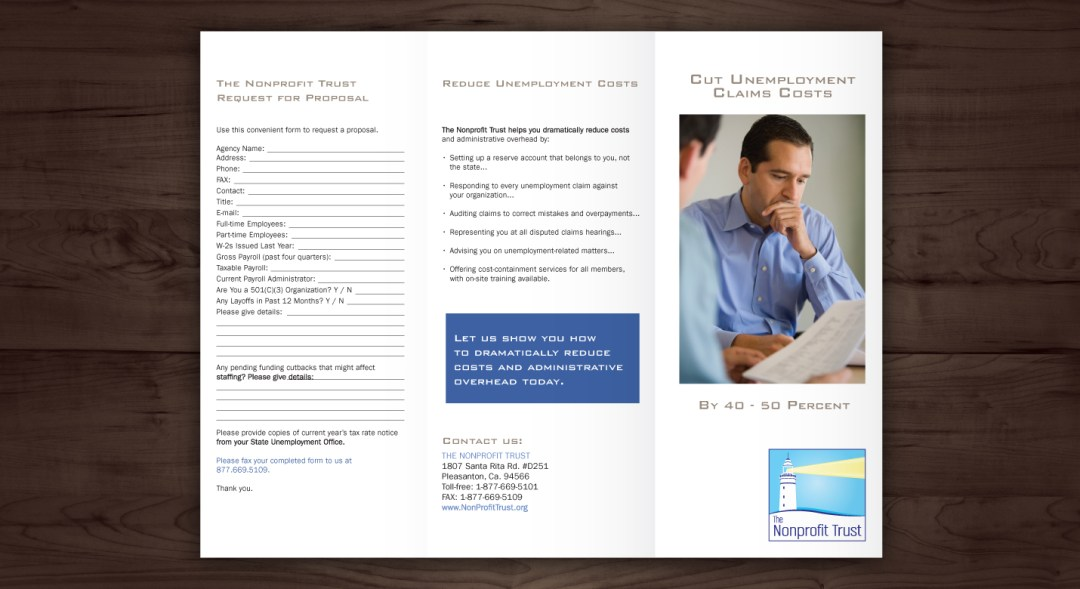 Graphic Design Brochure For Company