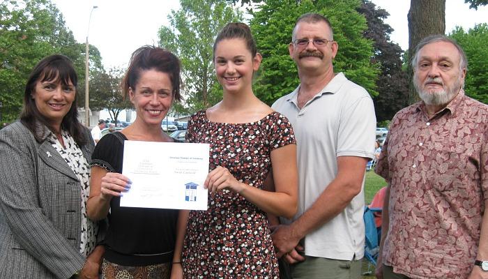 Sarah Cantwell awarded John F. Mahoney, Jr. Scholarship