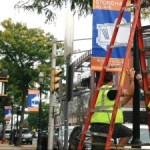 New Banners Beautify Stoneham Square!
