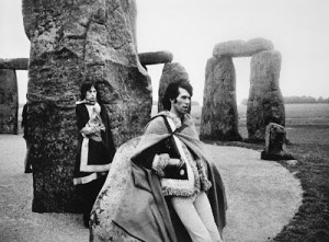 Mick Jagger and Keith Richards, Stonehenge 1967_1307306961875