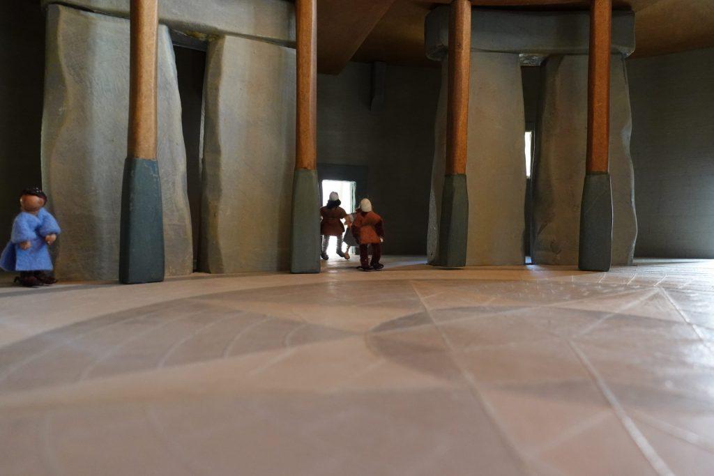 Stonehenge inside by Sarah Ewbank