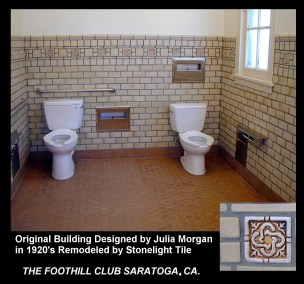 22 womans toilets area julia morgan foothill club