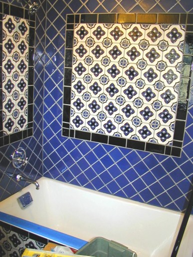 Debras blue bath 1