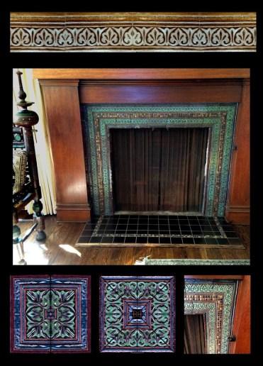Moorish design for Nancys fireplace 2