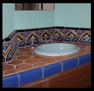 bathroom splash 1920's