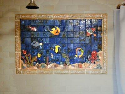 fish mural marks